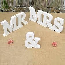 1 set vintage mr and mrs wood wedding props wooden alphabet