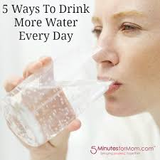 Drinking Water Meme - 5 ways to drink more water every day 5 minutes for mom