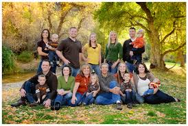 large family portrait idea for fall photos large