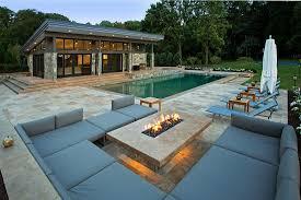 Modern Backyard Triyae Com U003d Modern House Designs With Pool Various Design