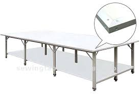 Folding Sewing Cutting Table Fabric Cutting Table Custom Sewing Cutting Table Industrial Fabric