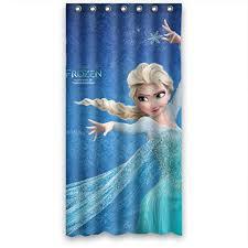 Curtain Cartoon by Cartoon Frozen Fabric Bath Shower Curtain 36 X 72 Inch In Shower