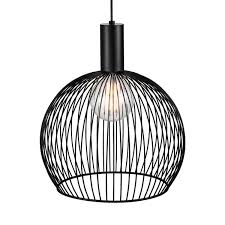 wire cage pendant light aver 40 wire cage pendant light black lsy