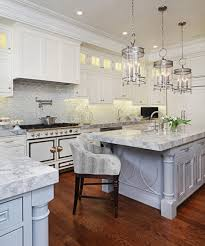 Kitchen With Two Islands Grand Kitchen With Two Islands U0026 La Cornue Range Traditional