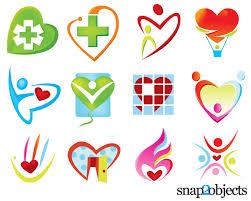 heart logo template free vectors ui download