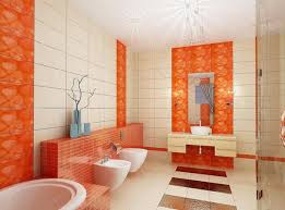 orange bathroom ideas amazing bathroom tiling design with orange ideas kitchen