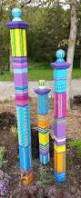 25 best ideas about garden art on pinterest yard art yard garden totem garden art garden sculpture sculptural totem yard art colorful totem lawn art single large totem