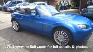 mazda convertible blue 2006 mazda mx 5 mk3 2 0 in metallic winning blue for sale at mx5