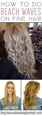 perm hair style for fine layered hair our client is summer ready with this beautiful beachy waves perm