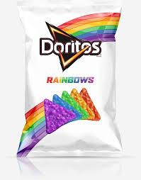 Coolest Doritos Bag Child U0027s Taste Rainbow Doritos Launch Pride Flag Inspired Tortilla