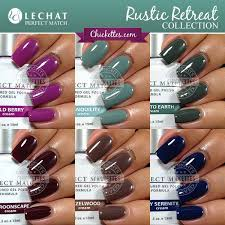 perfect match colors lechat perfect match rustic retreat collection for fall 2014