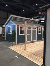 Shed Designs With Porch Design A Man Cave Worthy Of A Grunt Tuff Shed
