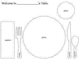 how to set table learn thru play some fun ways to teach your child how to set the