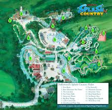 Pigeon Forge Tennessee Map by Map Of Rides At Dollywood Splash Country Water Park In Pigewater