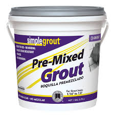 simplegrout pre mixed grout tile grout u0026 mortar ace hardware