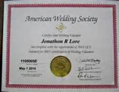 welder welding school aws loudoun va american institute of welding