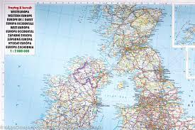 Map Western Europe by Wall Map Of Western Europe Physical Freytag U0026 Berndt U2013 Mapscompany