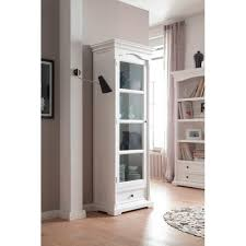 amazon com novasolo provence glass cabinet white china cabinets
