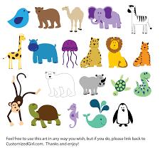 cute animals clip art at clker com vector clip art online