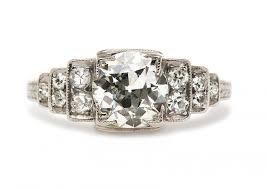 vintage art deco diamond ring google search rings pinterest