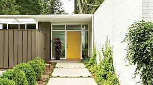yellow front door 13 bold colors for your front door southern living