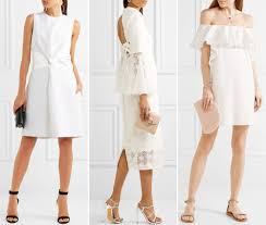 wedding day dresses white dresses to wear to a wedding shop white gowns instyle