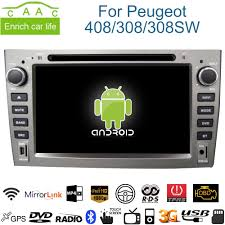 peugeot cars 408 aliexpress com buy android gps navigation 7