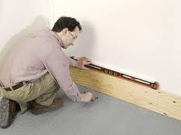 Installing Base Cabinets On Uneven Floor Installing Garage Cabinets