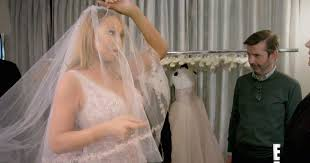 wedding dress daily carey calls wedding dress tv show footage bittersweet
