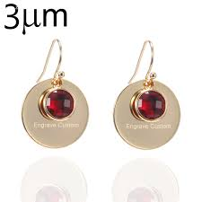 customized earrings buy engraved earrings personalized and get free shipping on