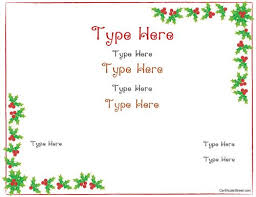 certificate free templates best 25 free printable gift certificates ideas on pinterest
