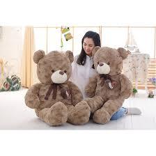 s day teddy bears 120cm 140cm kawaii high quality curly bears teddy bears plushs