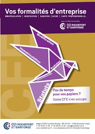 formation auto entrepreneur chambre de commerce formalités d immatriculation entreprise i cfe rochefort et saintonge