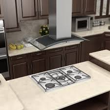 kitchen island stove top kitchen island extractor range stainless steel