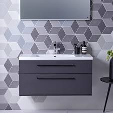 double sink wall hung vanity unit scheme 1000 wall mounted basin unit with double drawer roper rhodes
