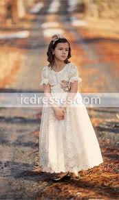 vintage communion dresses 80 lace flower dresses icdresses