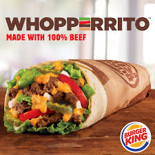 halloween whopper burger king burger king introduces whopperrito a burger burrito hybrid time com
