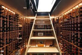 transform your basement into a wine cellar