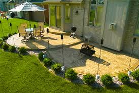 Concrete Patio Designs Furniture Sted Concrete Patio Ideas Designs Calico Of