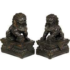 foo dogs furniture 9 foo dogs 2 pc figurine jcpenney