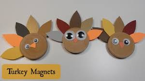 thanksgiving turkey crafts for preschoolers turkey craft for kids cute magnets youtube