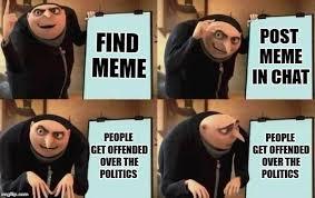Political Meme Generator - gru s plan imgflip