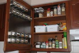 Spice Rack Pantry Door 40 Organization And Storage Hacks For Small Kitchens