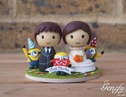 minion wedding cake topper gorgeous geeky cake toppers so damn