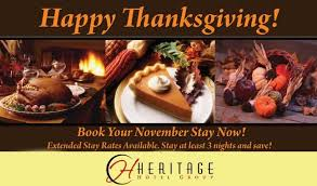 a great thanksgiving heritage hotel
