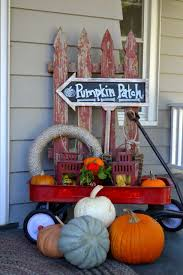 Outdoor Decorations For Fall - fall outdoor decor front porches vignettes and backdrops