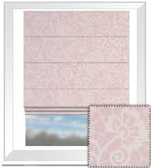 Roman Blind Clarke And Clarke Garden Party Lace Pink Roman Blind