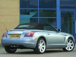 chrysler crossfire roadster uk 2007 pictures information