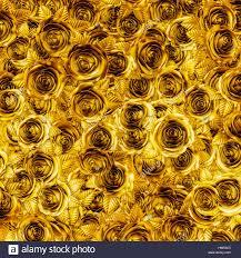 golden roses golden roses background 3d illustration of metallic gold roses