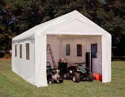 king canopy hercules ii 10 5 ft w x 20 ft d garage u0026 reviews